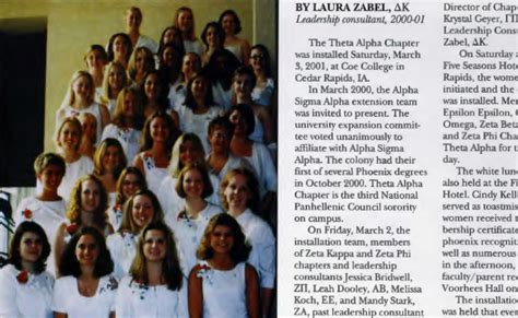 The Theta Timeline theta alpha chapter installed alpha sigma alpha alpha