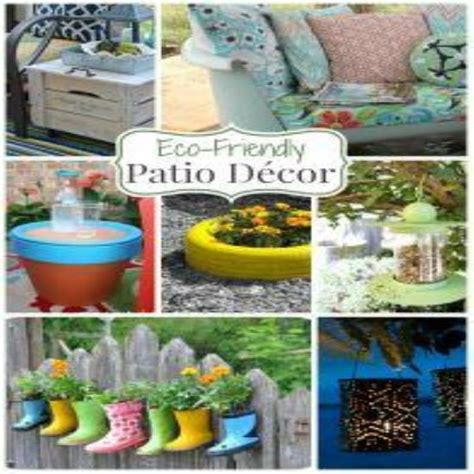 eco friendly items for sustainable home decor a roundup of 24 eco friendly patio decor ideas green