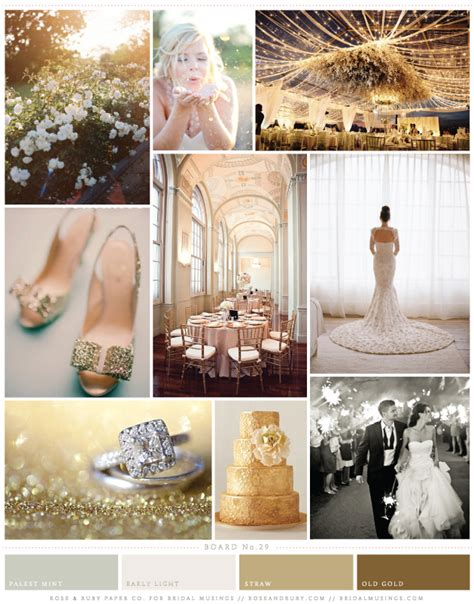 ruby wedding inspiration mint green teal and gold wedding gold and mint wedding inspiration board bridal musings