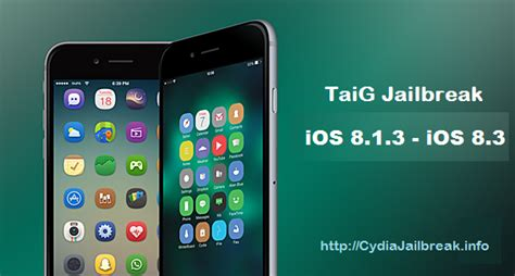 how to download free themes for iphone 6 jailbreak ios 8 3 ios 8 1 3 using taig jailbreak 2 0
