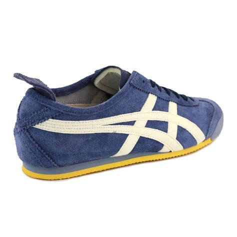 Onitsuka Tiger Suede Brown Original onitsuka tiger mexico 66 su mens suede laced trainers navy white