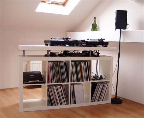 Dj Turntable Mixing Desk Stand Hey Dj Pinterest Mixing Desk Stand