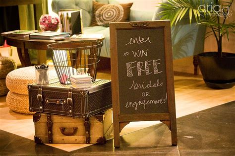 Bridal Show Giveaway Ideas - bridal show booth concept chalkboard and giveaway idea coincidentally i bought this