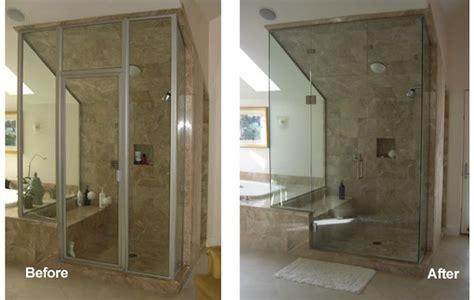 Frameless Shower Doors Vs Framed Glass Shower Doors Eagle County Frameless Shower Doors Summit County Shower Enclosures