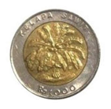 Koin Bimetal 1000 Rupiah uang kedaluwarsa seri koin rupiah