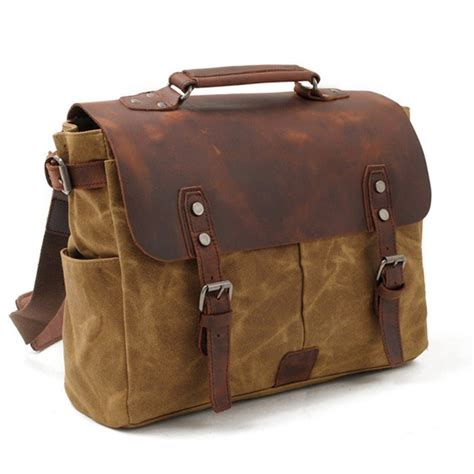 Travel Messenger Bag canvas laptop messenger bags for leather travel bags