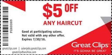 haircut coupons thornton co great clips coupon 5 off any hair cut hair pinterest