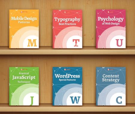 ebook shelf cards template web designer s essential bundle by smashing magazine