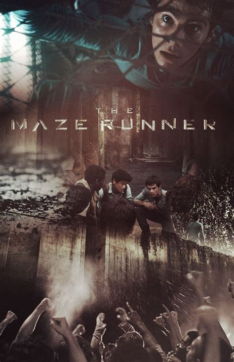 the maze runner movie poster fan made the maze runner the maze runner poster w arriors pancydobtst maze