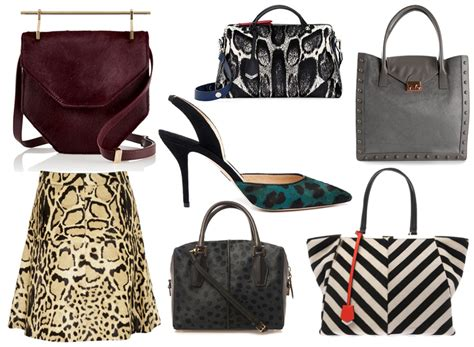 Other Designers Purse Deal Calvin Klein Textured Calf Shoulder Tote by Want It Wednesday Calf Hair Everything Purseblog