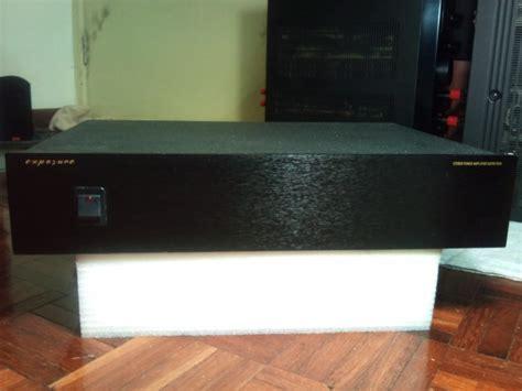 exposure super xviii  power amp sold