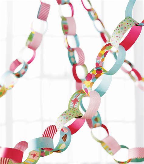 Paper Chain Crafts - martha stewart crafts paper chain kit modern festive