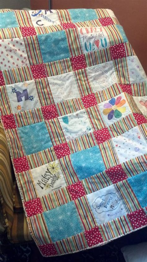 Baby Shower Interactive by Custom Interactive Baby Shower Quilt