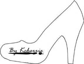 high heel template high heel paper shoe template stencils transfers