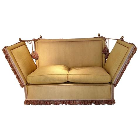 Knole Sofa For Sale by Glamorous Classic Regency Knole Sofa For Sale At