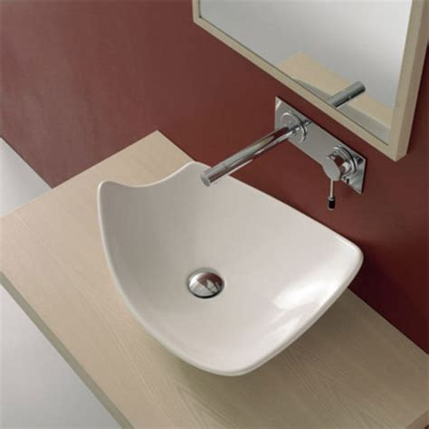 nameeks kong 50 above counter bathroom sink in white