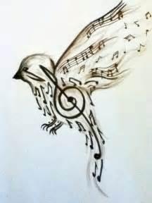 Music Note Bed Set Art Bird Music Notes Image 586729 On Favim Com