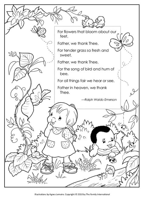 coloring pages for joy coloring pages quot shout for joy quot and quot father we thank thee quot