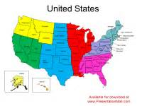 editable united states powerpoint map
