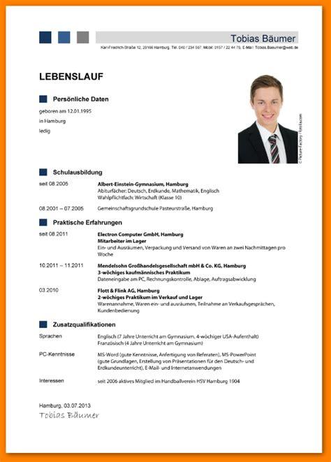 Guter Lebenslauf Vorlage Schweiz Tabellarischer Lebenslauf Muster 2015 Templated