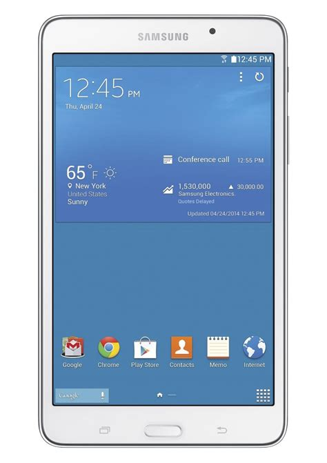 Samsung Galaxy Tab 4 samsung galaxy tab 4 7 inch 8gb smt230nzwaxar