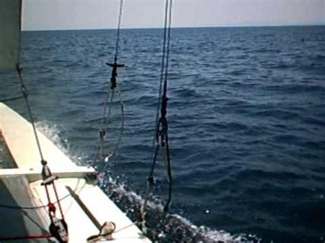 catamaran storm video we survived hurricane matthew first look at s v valhal