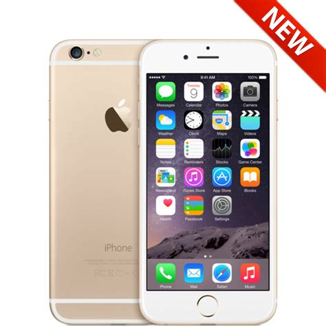 Iphone Metro Pcs by New Apple Iphone 6 128gb Gold Unlocked At T Tmobile Metropcs Smartphone Ebay