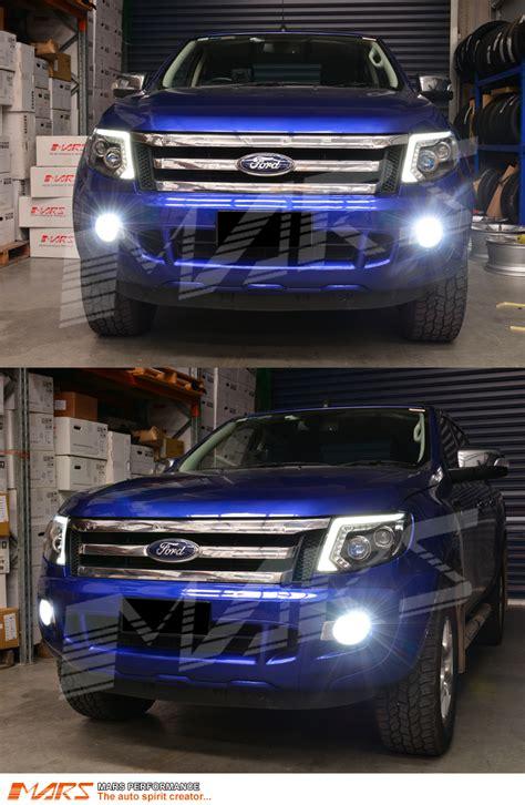 ford ranger fog lights mars projector bright led smd bumper bar driving fog