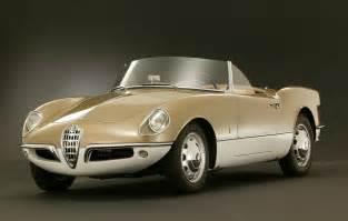 Second Alfa Romeo Giulietta 1955 Alfa Romeo Giulietta Spider Bertone Studios
