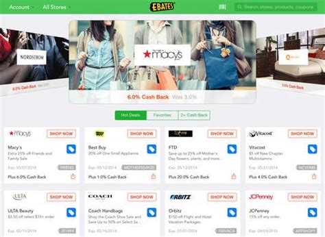 ebates official site ebates alternatives and similar apps and websites