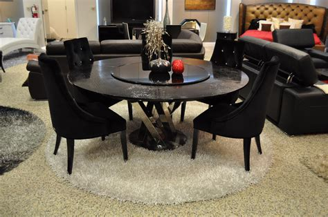 Modern Round Dining Table For 6 Www Pixshark Com