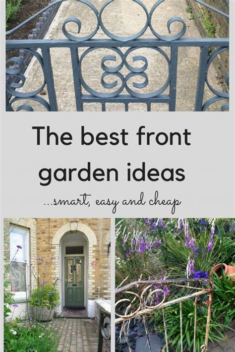 the best front garden ideas smart easy and cheap the