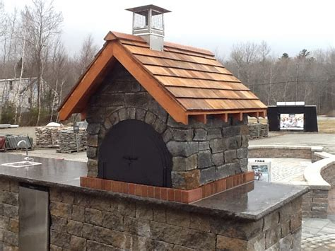 pizza oven the gagne son wood fired brick pizza oven in maine