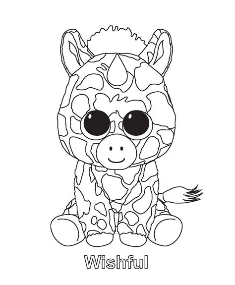 free ty coloring pages