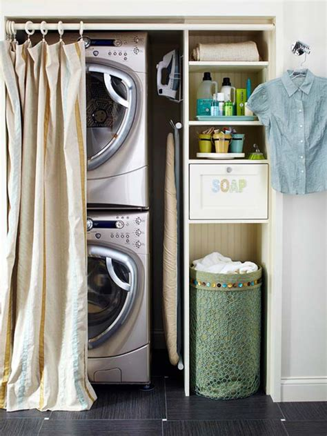 Utility Closet Organization Ideas by 60 Amazingly Inspiring Small Laundry Room Design Ideas