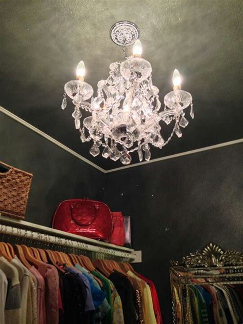 10 best images about closet chandeliers on