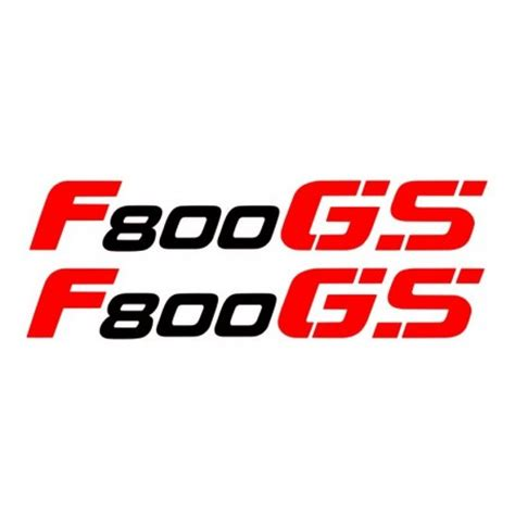 Aufkleber Bmw F 800 Gs by 2 Aufkleber F800gs Schwarz