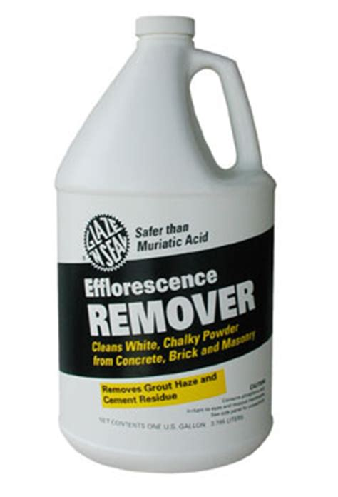 efflorescence remover glaze  seal products