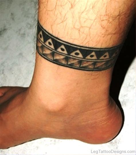 tribal thigh band tattoos 53 classic band tattoos on leg