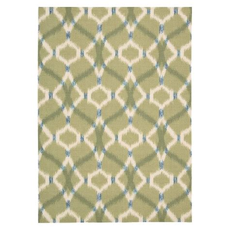 ikat indoor outdoor rug ikat lattice indoor outdoor rug waverly target