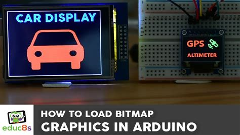 tutorial utft arduino tutorial bitmap graphics on an arduino touch
