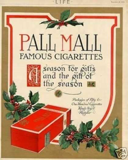 pall mall colors pall mall cigarettes color 1913 and tobacco