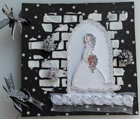 Handmade Wedding Scrapbook - ooak handmade church wedding arched doorway scrapbook