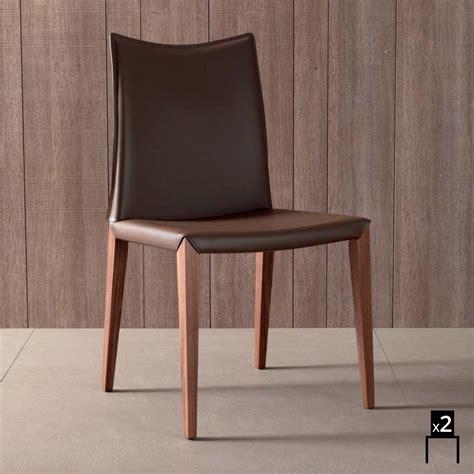 sedie imbottite per sala da pranzo set 2 sedie moderne per sala da pranzo in cuoio rigenerato