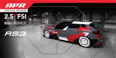 Audi A3 Ecu Upgrade by Apr Presents The Rs3 8v 2 5 Tfsi Ecu Upgrade