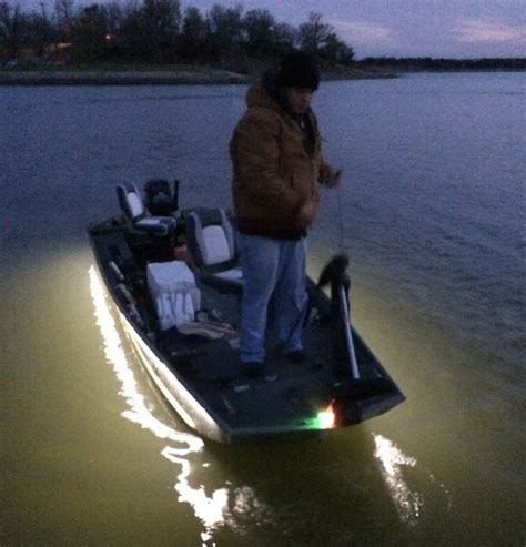 led lights on jon boat led lights down side of boat crappie fishing texas