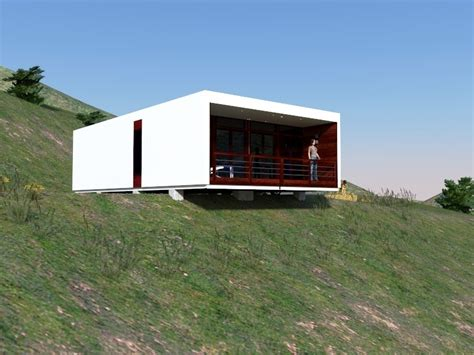 small modular homes prefab lake cottage narrow block