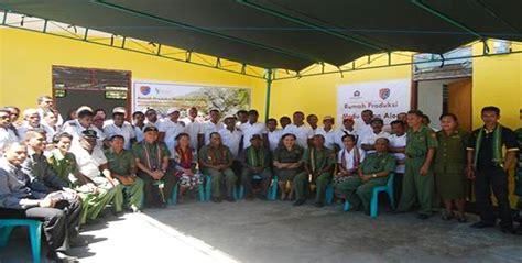 Madu Amfoang media ntt bupati alor resmikan rumah produksi madu hutan