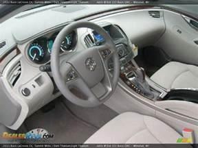 2011 Buick Lacrosse Interior Titanium Light Titanium Interior 2011 Buick