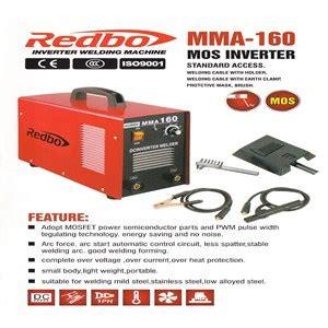 Mesin Las 160a Murah Welstar jual mesin las redbo mma 160a harga murah jakarta oleh